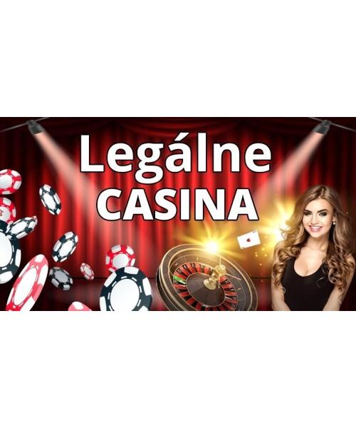 Online kasíno legálne